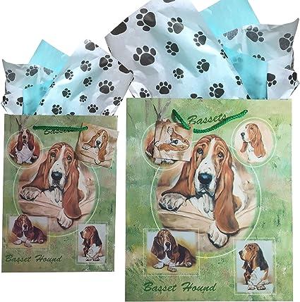 Basset Hound Gift Bag