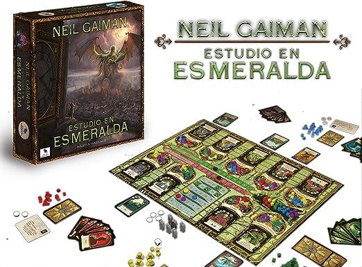 Ediciones MasQueoca - Estudio en Esmeralda (Segunda Edicion) (Español): Amazon.es: Juguetes y juegos