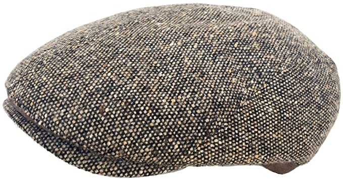Herman Range Made in Italy Wool Confetti Tweed Ivy Cap Driver Newsboy  Scally Hat at Amazon Men s Clothing store  142c7725fe5