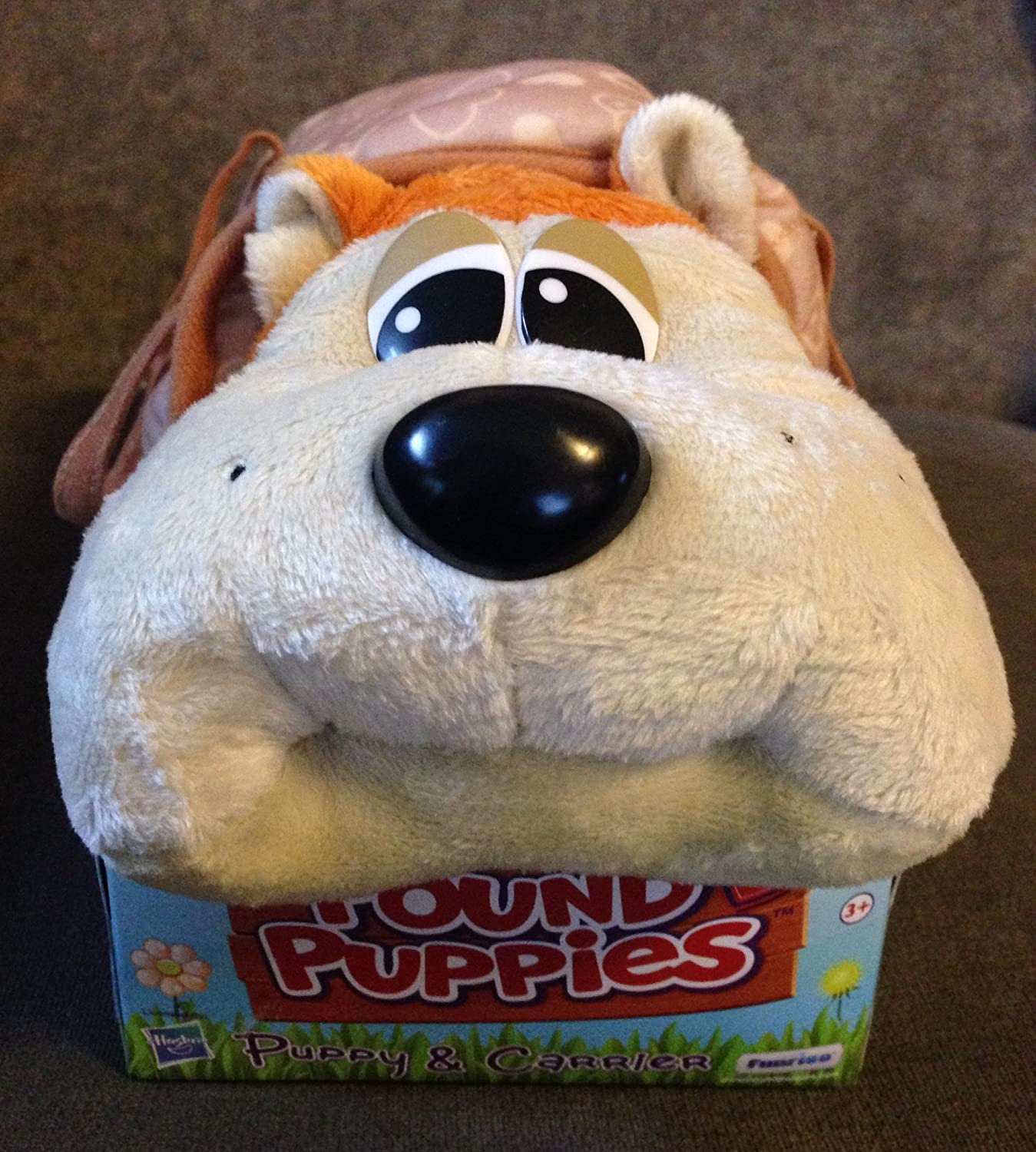 Amazon Pound Puppies Puppy & Carrier Shiba Inu Toys & Games