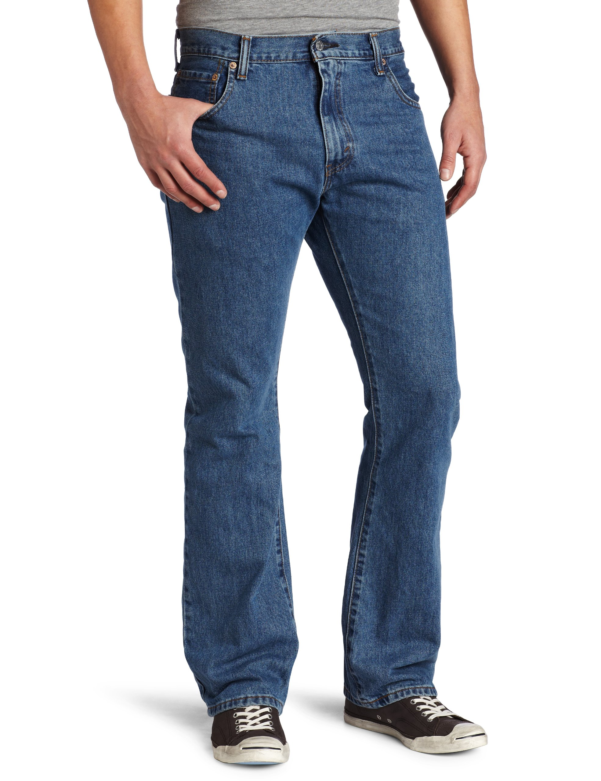 Levi's Men's 517 Boot Cut Jean, Medium Stonewash, 34x32 by Levi's