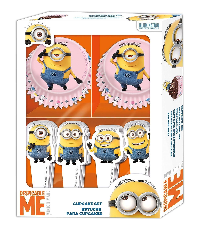 Amazon.com: St271 - Cupcake Set - Minions: Toys & Games