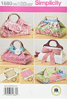 product image for Simplicity 1680 Casserole and Dish Carriers Sewing Pattern, Size OS (One Size)