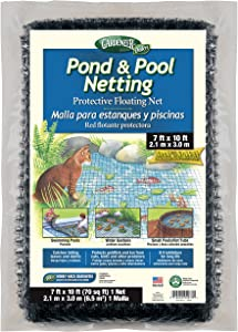 Gardeneer By Dalen PN-10 Pond & Pool Netting Protective Floating Net 7' x 10'