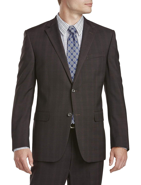Geoffrey Beene Tonal Plaid Suit Jacket