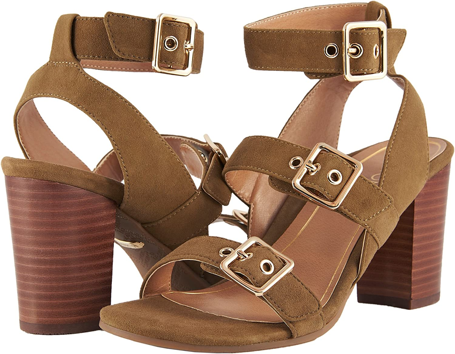 a2e4bf6c91bd Vionic Womens Perk Carmel Backstrap Heel Sandal  Amazon.co.uk  Shoes   Bags