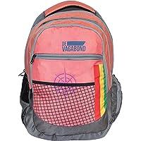 Devagabond 42 Ltrs Peach School Backpack (Sweager_2_ Peach)