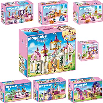 Playmobil Princesse Set : 6848 6850 6851 6852 6853 6854 6855 6856 ...
