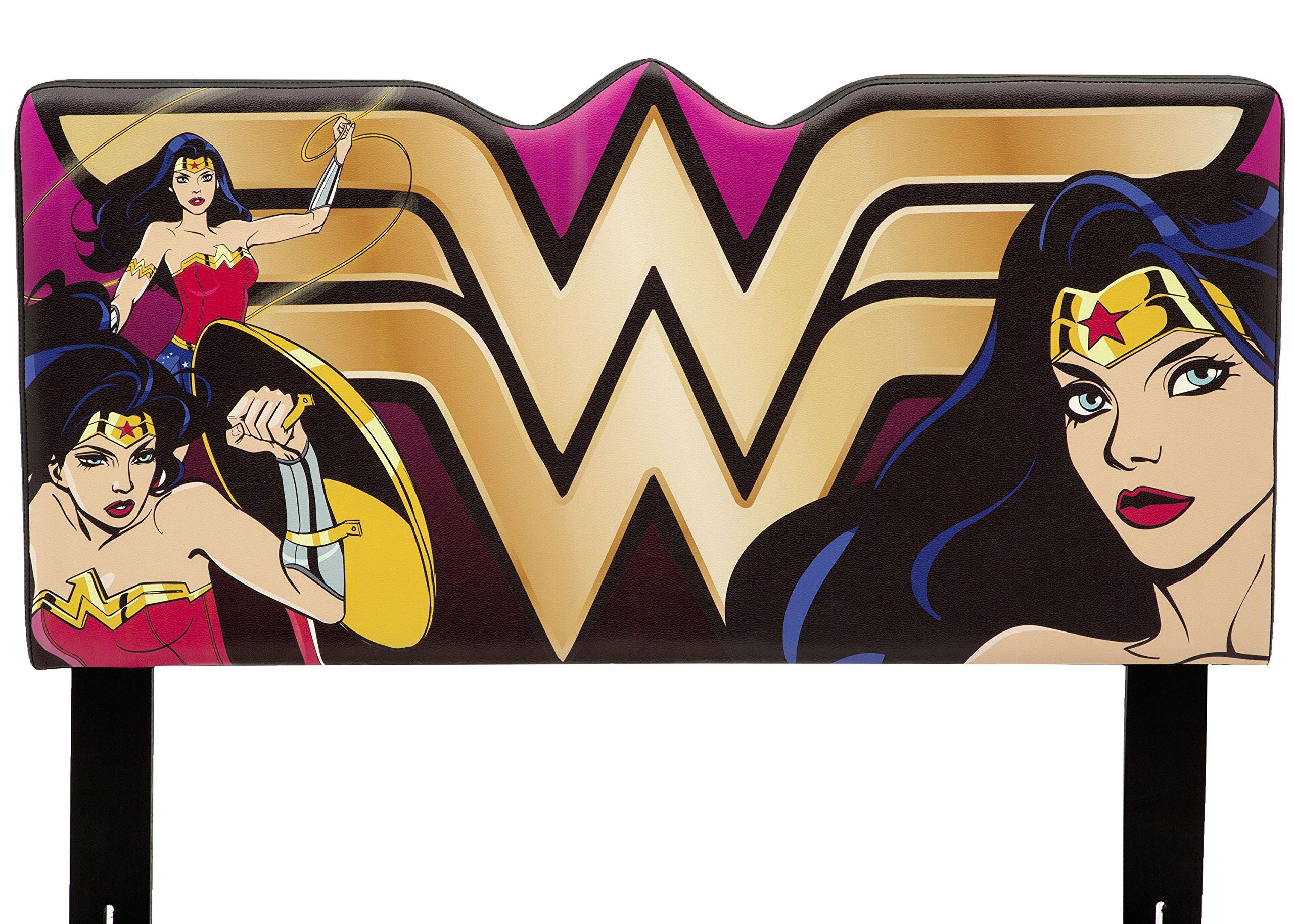 DC Comics Wonder Woman Upholstered Twin Headboard