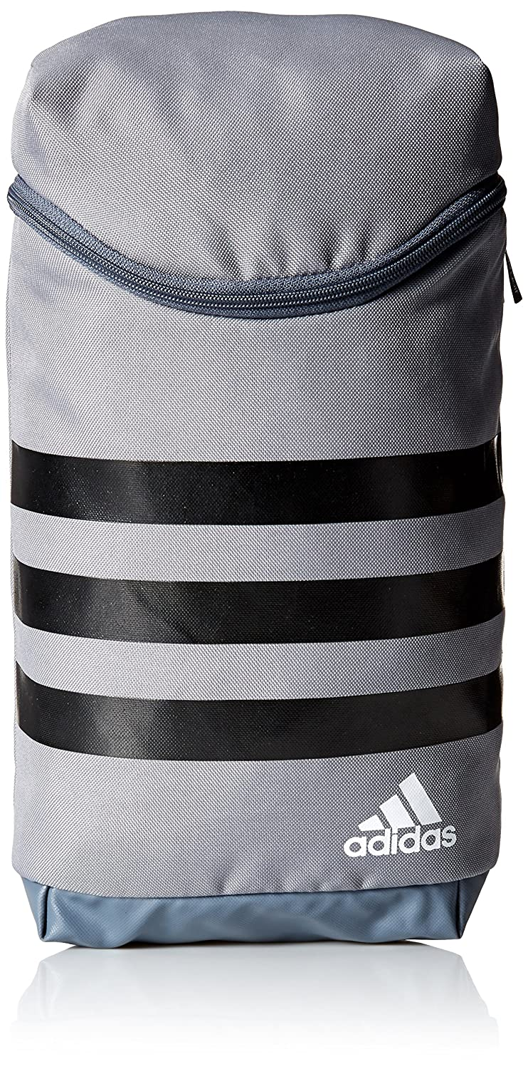 2017 Adidas 3-Stripes Full Ventilation Shoe Bag With Grab Handle Grey/Black/White One Size BC2244