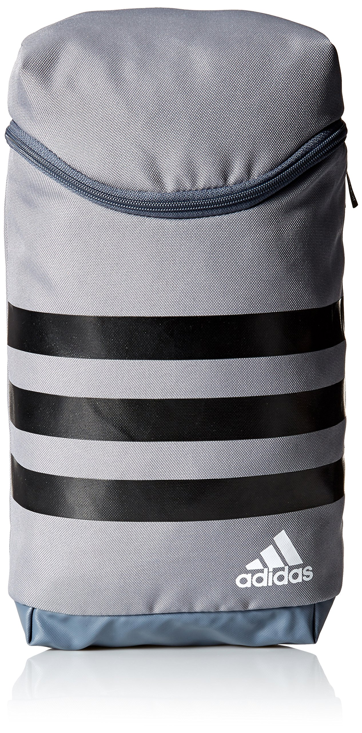 adidas Golf 3-Stripes Golf Shoe Bag, Grey/Black/White, One Size by adidas