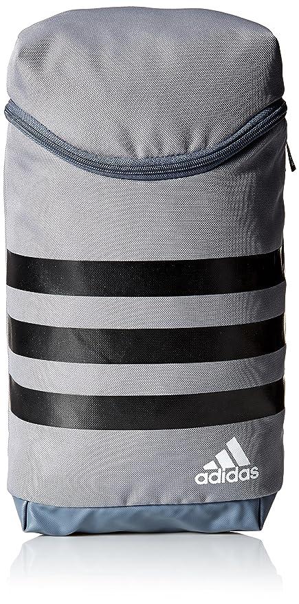 6c2462a01332d adidas Golf 3-Stripes Golf Shoe Bag, Grey/Black/White, One Size