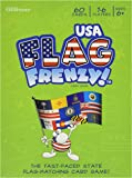 Flag Frenzy USA - Educational Geography Card Game By Geotoys