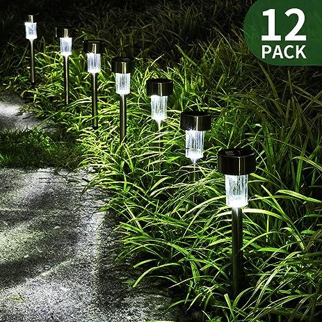 Amazoncom FCFancier Solar Lights for Outdoor Garden Led Light