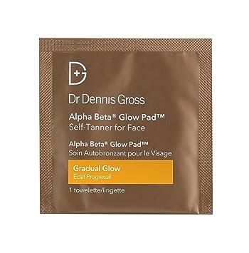 Dr Dennis Gross - Alpha Beta Glow Pad for Face - 50 Towelettes Laura Mercier Flawless Skin Total Repair Regimen For Face & Eyes: Creme 30g + Serum 30ml + Eye Makeup Remover 30ml + Fac