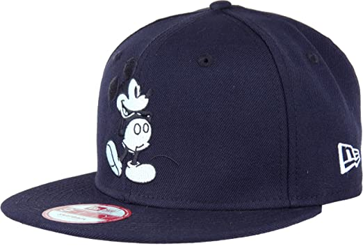132ec6ba Image Unavailable. Image not available for. Color: New Era Mickey Mouse CL  Navy Snapback Cap 9fifty Special Limited Edition Disney