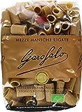 Garofalo Organic Whole Wheat Mezze Maniche 500 g (Pack of 4)