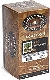 Baronet Coffee Hazelnut Medium Roast (140 g), 18-Count Coffee Pods (Pack of 3)