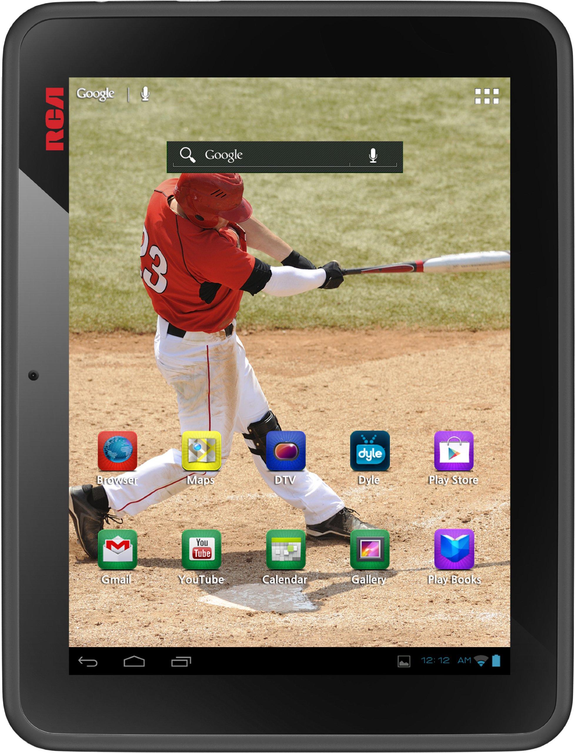 RCA DMT580DU Mobile TV 8 Inch 8GB Tablet (TV app download required)