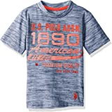 U.S. Polo Assn. Boys Short Sleeve Crew Neck Graphic T-Shirt Short Sleeve T-Shirt