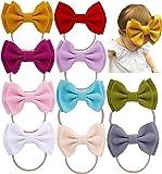 Qandsweet Baby Girls Headbands and Bows Newborn Toddler Children's Hair Accessories