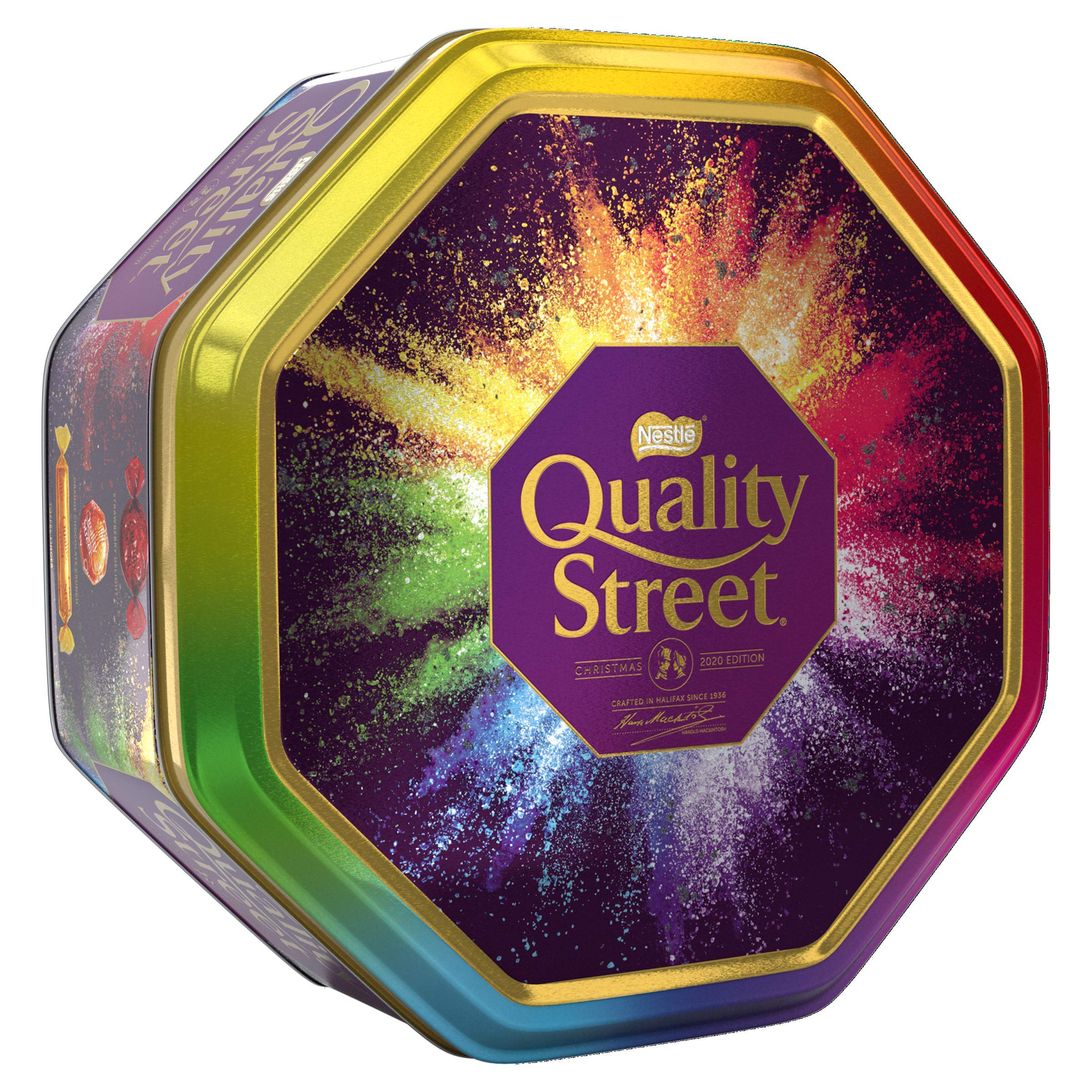Quality Street Christmas Chocolate, Toffee and Cremes Tin, 1kg