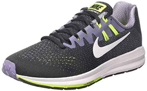 3727326100e3 Nike Womens Air Zoom Structure 20 Running Shoe 849577-005 Anthracite (6)   Amazon.in  Shoes   Handbags