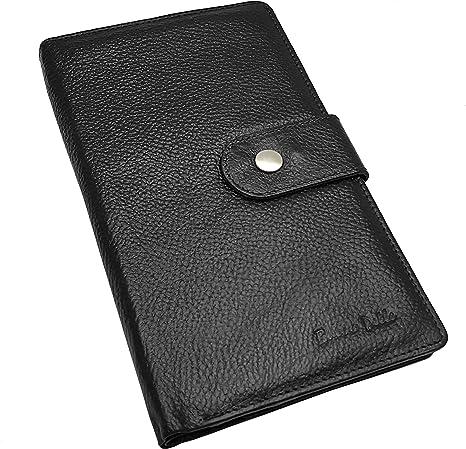 Led Christmas Lights Leather Passport Holder Cover Case Blocking Travel Wallet