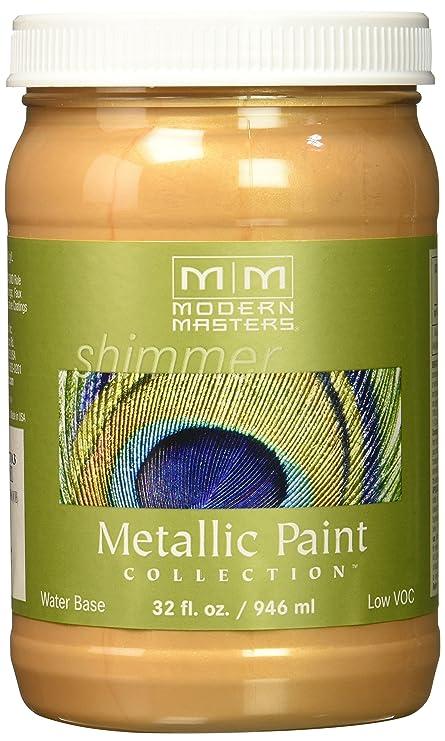 Modern Masters ME703-32 Metallic Paint, Camel