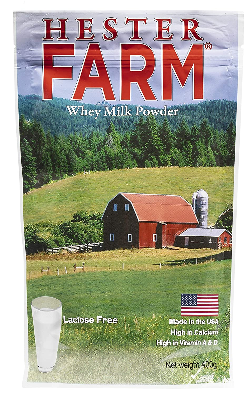 Hester FARM Lactose-Free Whey Milk, 400g