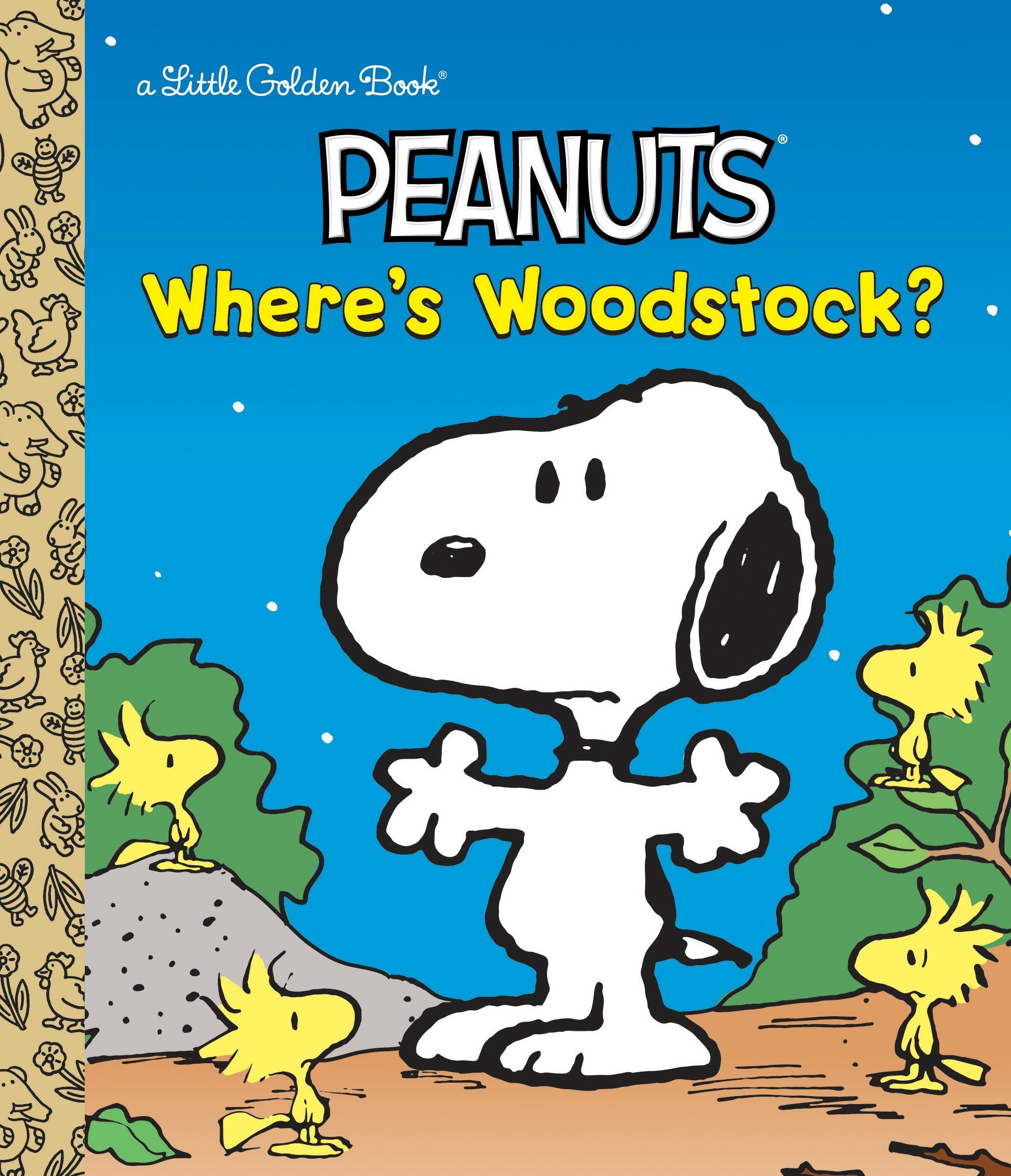 Download Where's Woodstock? (Peanuts) (Little Golden Book) pdf epub