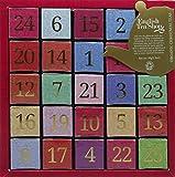 English Tea Shop Nylon Pyramid Numerical Advent Calendar, 25 ct