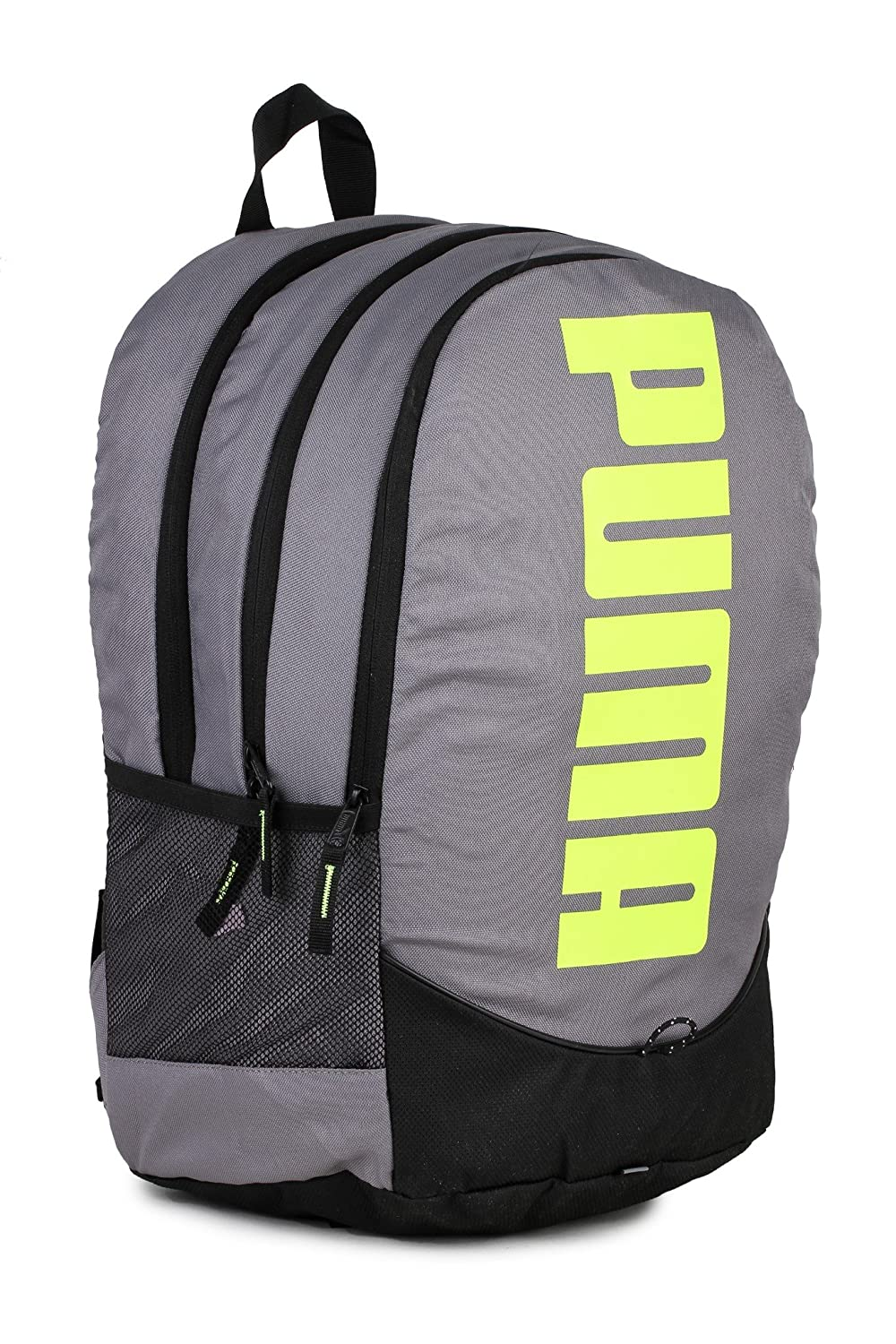 9ff18cfed3d3 ... Puma Gray Violet and Fluo Pink Laptop Backpack (7593301) Amazon.in Bags