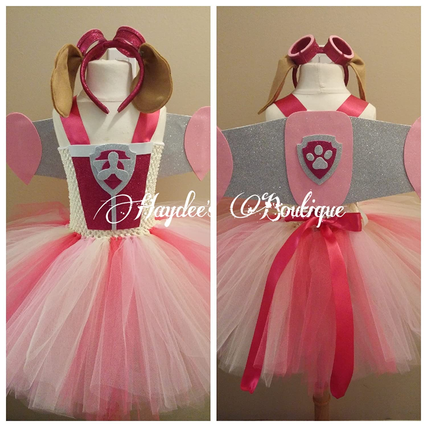 Flying Puppy Tutu Dress Set