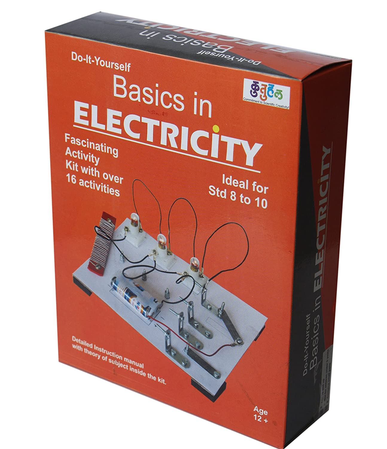 Buy kutuhal basics in electricity do it yourself working model buy kutuhal basics in electricity do it yourself working model online at low prices in india amazon solutioingenieria Images