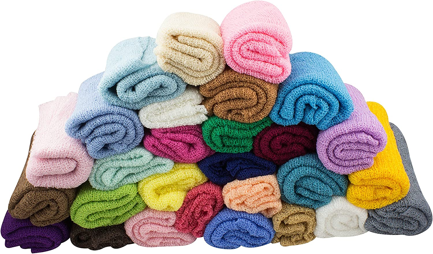 28 Colors to Choose from JLIKA Newborn Baby Photography Photo Prop Stretch Wrap