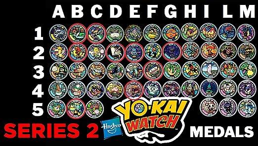 46 opinioni per Medaglia a Scelta Per Orologio Yo-Kai Watch- COMUNI- serie 2 ( 1 solo pezzo )