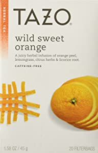 Tazo Wild Sweet Orange Tea 20ct Box