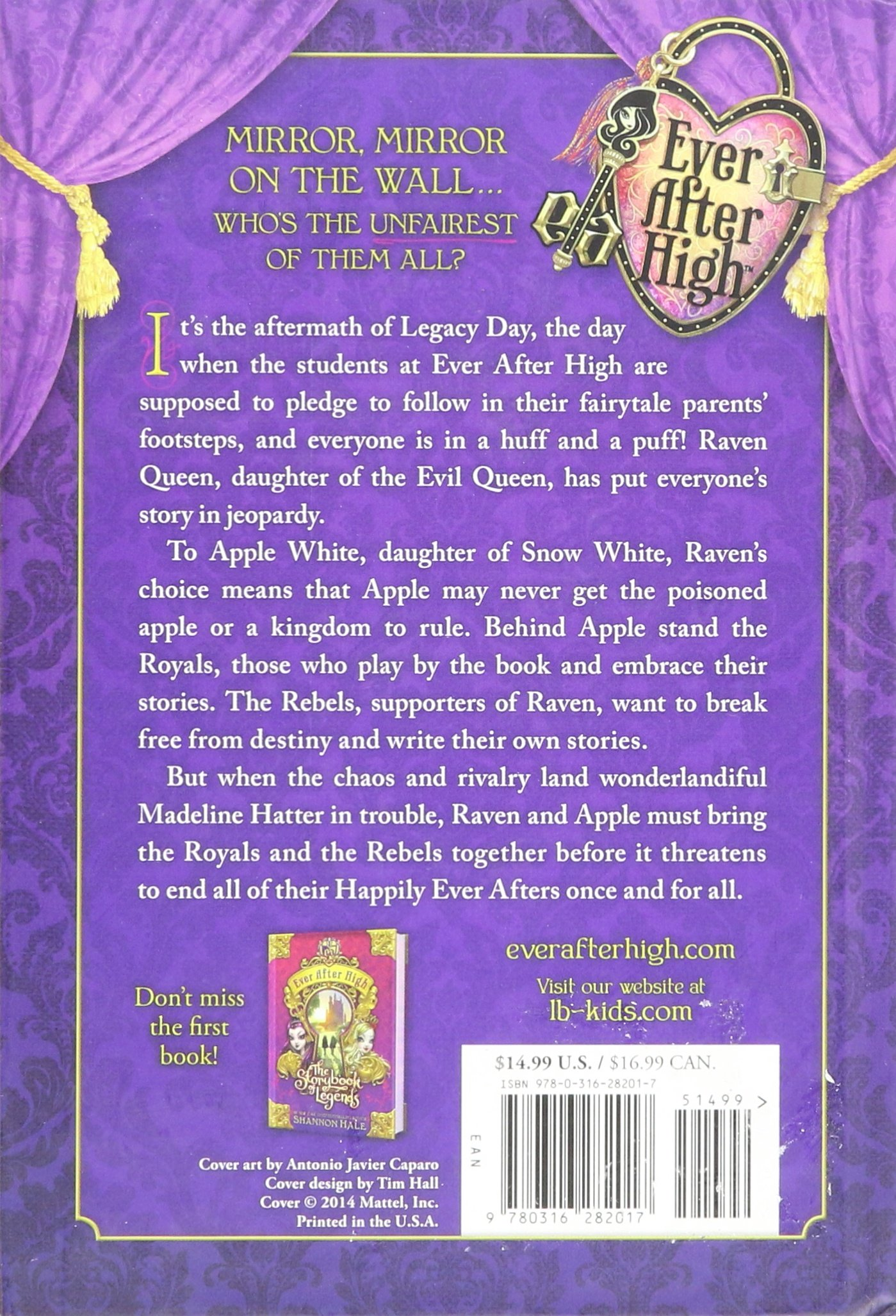 The Unfairest Of Them All Ever After High 2 By Shannon Hale