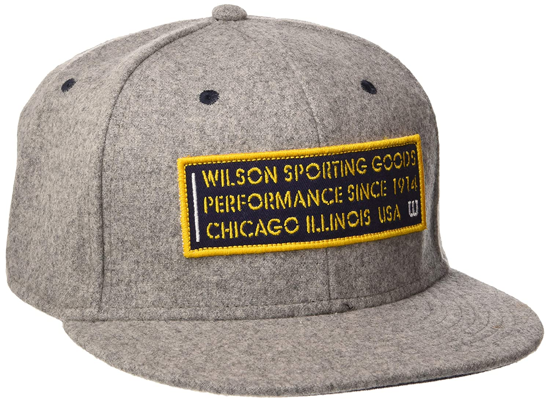 Wilson Gorra Since 1914, 50 % lana, 50 % poliéster, Gris claro ...