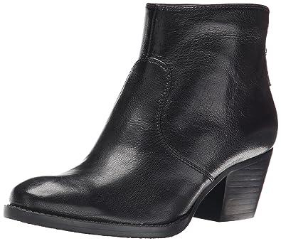 Nine West Women's Bolt Leather Boot, Black, ...