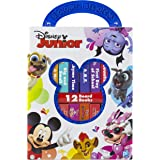 Disney Junior Mickey, Minnie, Puppy Dog Pals and more! - My First Library Board Book Block 12-Book Set - PI Kids