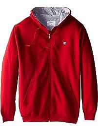 Champion Men's Big & Tall Full-Zip Fleece Hooded Jacket