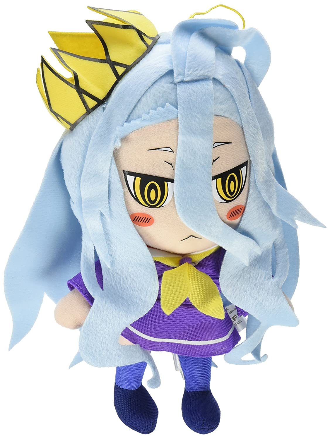 Amazon.com: GE Animation GE-52758 No Game No Life Shiro Stuffed Plush: Toys & Games