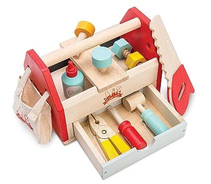 ed2bbc625 Le Toy Van Wooden Tool Box: Amazon.co.uk: Toys & Games