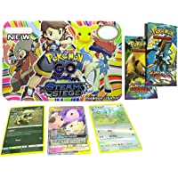 Pokemon Steam Siege Cards with 2 VIP Cards