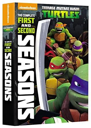 Teenage Mutant Ninja Turtles: Comp 1St & 2Nd Ssn 8 Dvd ...