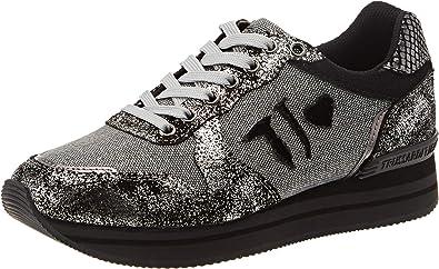 Trussardi Jeans Running Patch Tj Logo, Zapatillas de Gimnasia para Mujer: Amazon.es: Zapatos y complementos