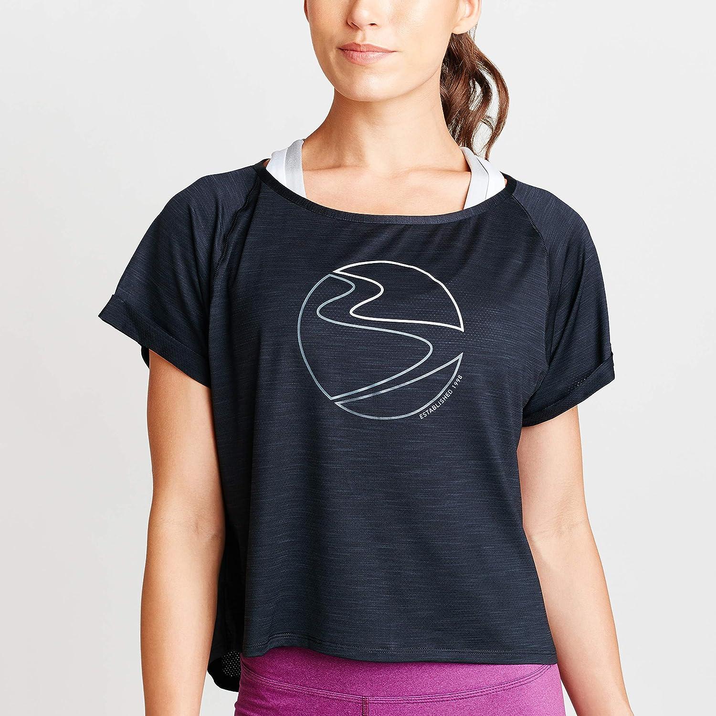 Beachbody Womens Energy Mesh Layer Tee Short Sleeve