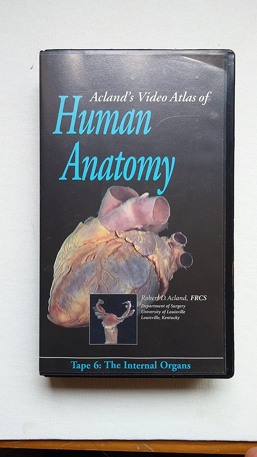 Amazon.com: Acland\'s Video Atlas of Human Anatomy: The Internal ...